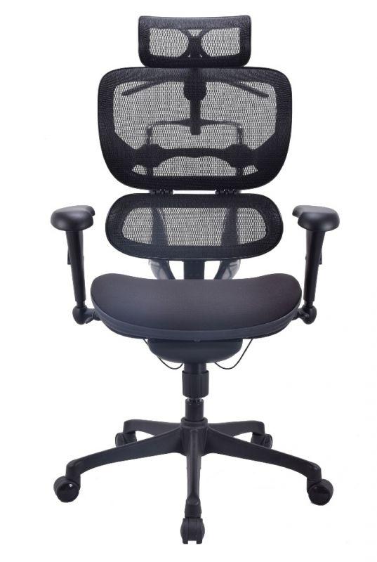 Pracovní Židle ALS BASE Černá Síť
