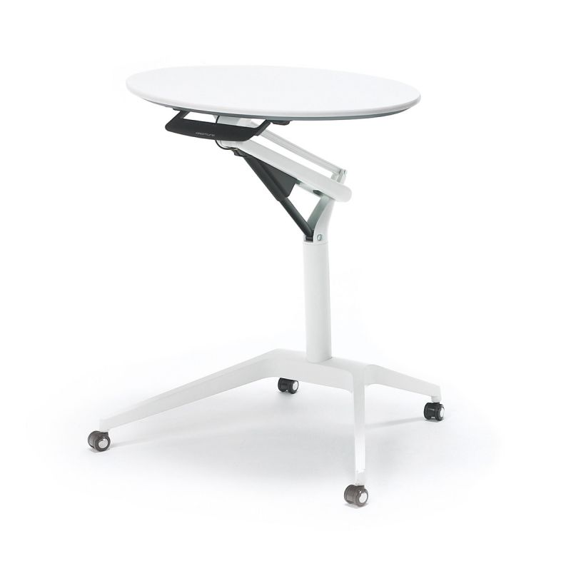 Stůl OKAMURA Risefit s Bílou nohou