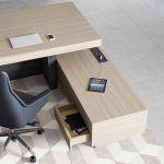 Kancelářský Stůl s Otevřeným panelem B101