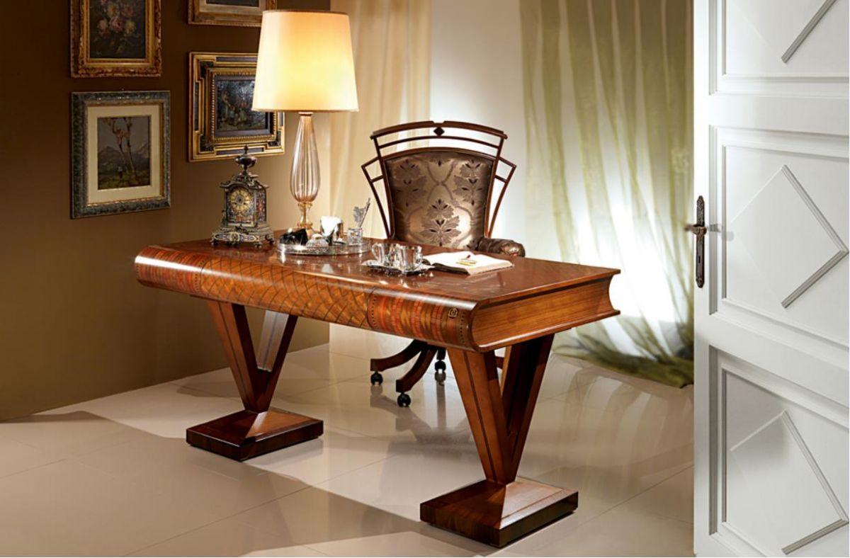 Klasický Stylový Psací Stůl C100