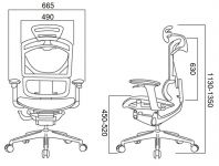 Manažerská Židle UNO Černá