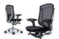 Židle Okamura Contessa 2 Stříbrná Černá látka