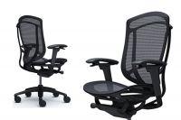 Židle Okamura Contessa 2 Černý rám Černá síťovina
