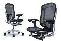 Židle Okamura Contessa 2 Stříbrný rám Černá síťovina